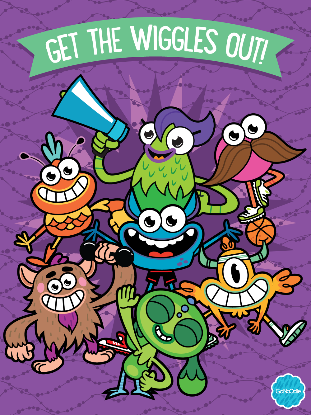 GoNoodle - Miguel Camilo - Illustration & Design